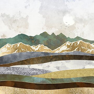 Winter Hills by spacefrogdesign