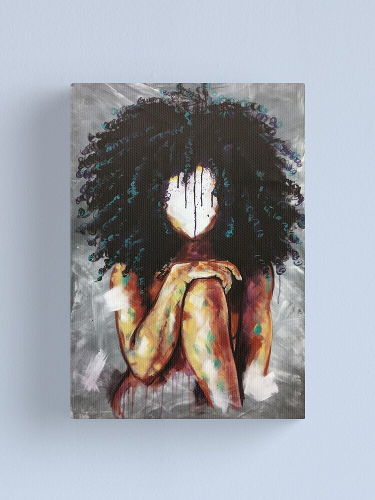 Alternate view of Naturally I Canvas Print