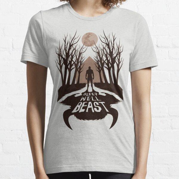 Sleep Well Beast Essential T-Shirt
