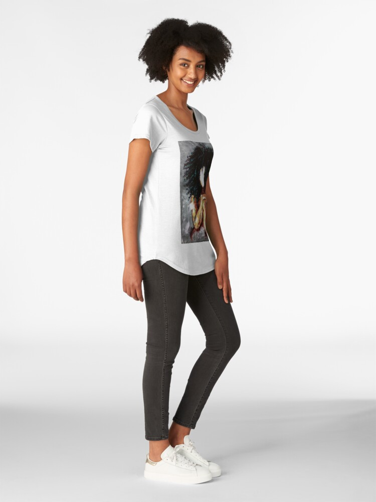 Alternative Ansicht von Natürlich ich Premium Rundhals-Shirt