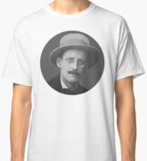 James Joyce - black and white Classic T-Shirt