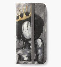Natürlich Königin iPhone Flip-Case/Hülle/Klebefolie