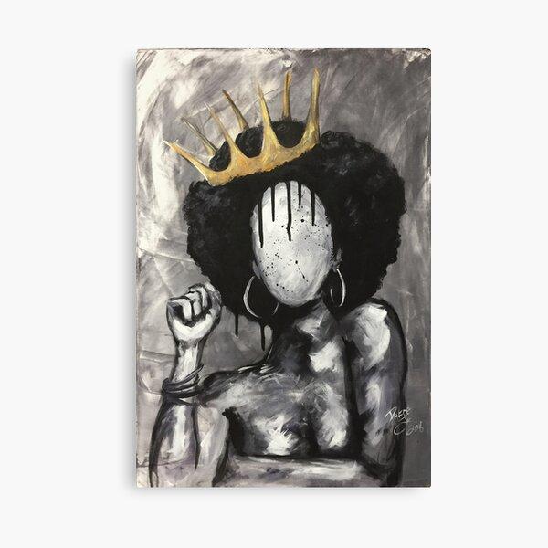 Naturally Queen Canvas Print