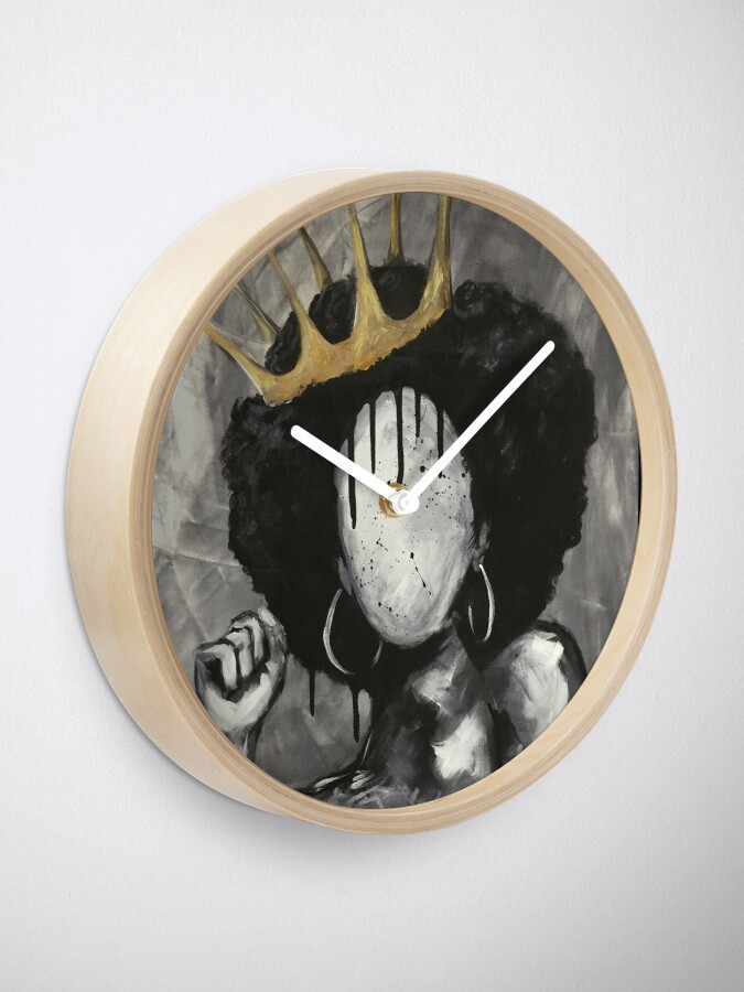 Alternative Ansicht von Natürlich Königin Uhr