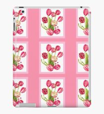 9 bunches of Pink Tulip Flowers by Kristie Hubler iPad Case/Skin