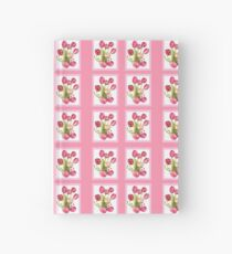 9 bunches of Pink Tulip Flowers by Kristie Hubler Hardcover Journal