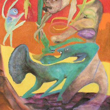 Spiritual Portrait - Jamie B. by OILSTUDIOS