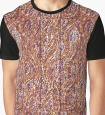 Wood Planks Pointillism by Kristie Hubler Graphic T-Shirt