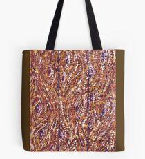 Wood Planks Pointillism by Kristie Hubler Tote Bag