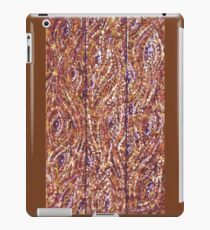 Wood Planks Pointillism by Kristie Hubler iPad Case/Skin