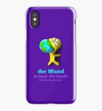 der Mund, la boca, the mouth iPhone Case/Skin