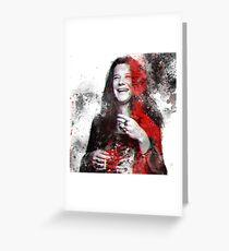 Joplin, Janis Greeting Card