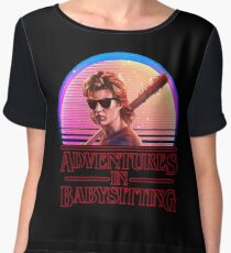Adventures In Babysitting Chiffon Top