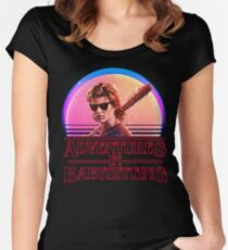 Adventures In Babysitting Women's Fitted Scoop T-Shirt