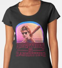 Adventures In Babysitting Women's Premium T-Shirt