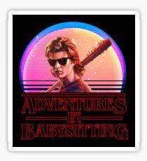 Adventures In Babysitting Sticker