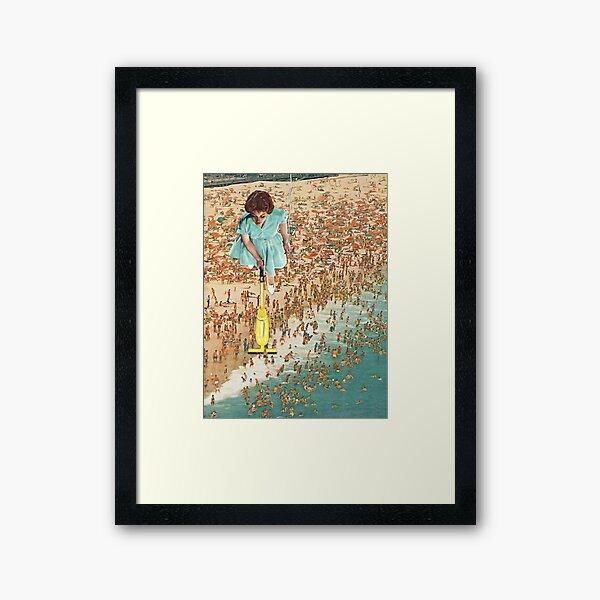OCD Lady Framed Art Print