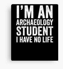 Archeology Student Canvas Print