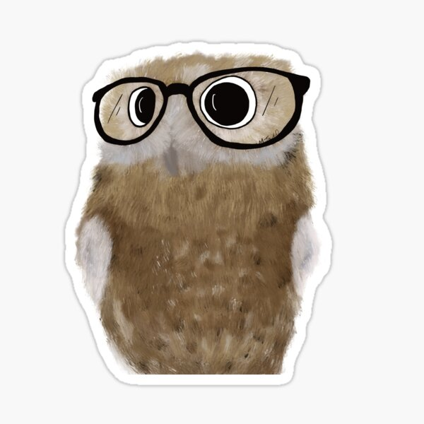 Owl Be Seeing You Sticker