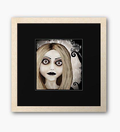 Dear little doll series... TIFFANY Framed Print