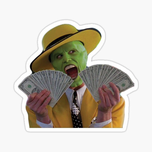 Jim Carrey Le masque Sticker