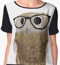 Owl Be Seeing You Chiffon Top