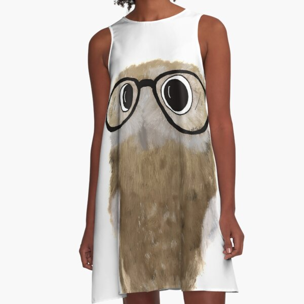 Owl Be Seeing You A-Line Dress