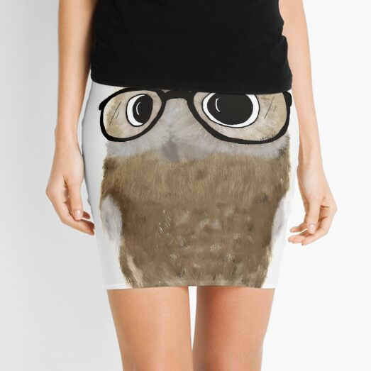 Owl Be Seeing You Mini Skirt