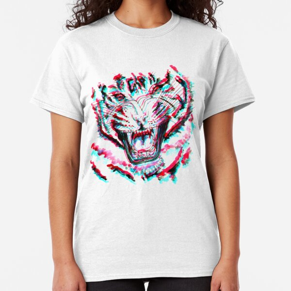 TIGER 3D THEMIKY Classic T-Shirt