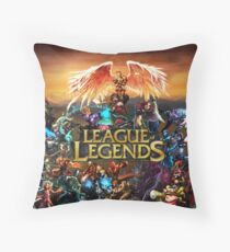 League of Legends Throw Pillow
