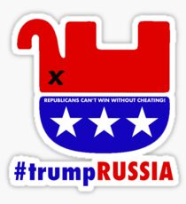 REPUBLICANS CAN'T WIN WITHOUT CHEATING! Sticker