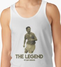 Ryan Giggs The Legend of Manchester United Men's Tank Top