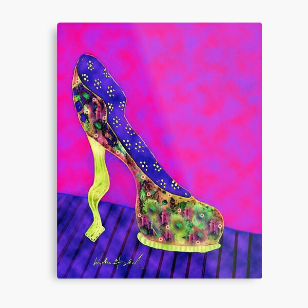 High Heel Daphne Gaylord Metal Print