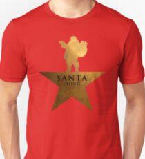 Santa Christmas Star Hamilton Parody T-Shirt