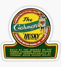 Cushman Husky Scooter USA Sticker