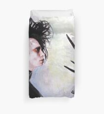 The story of an uncommonly gentle man. Duvet Cover