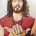 Russell Brand Fan art by Marina Coffey
