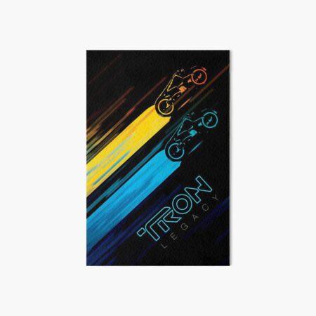 LightBikes Tron Art Board Print