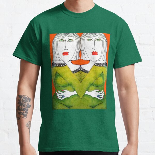Twins Green Dress Daphne Gaylord Classic T-Shirt