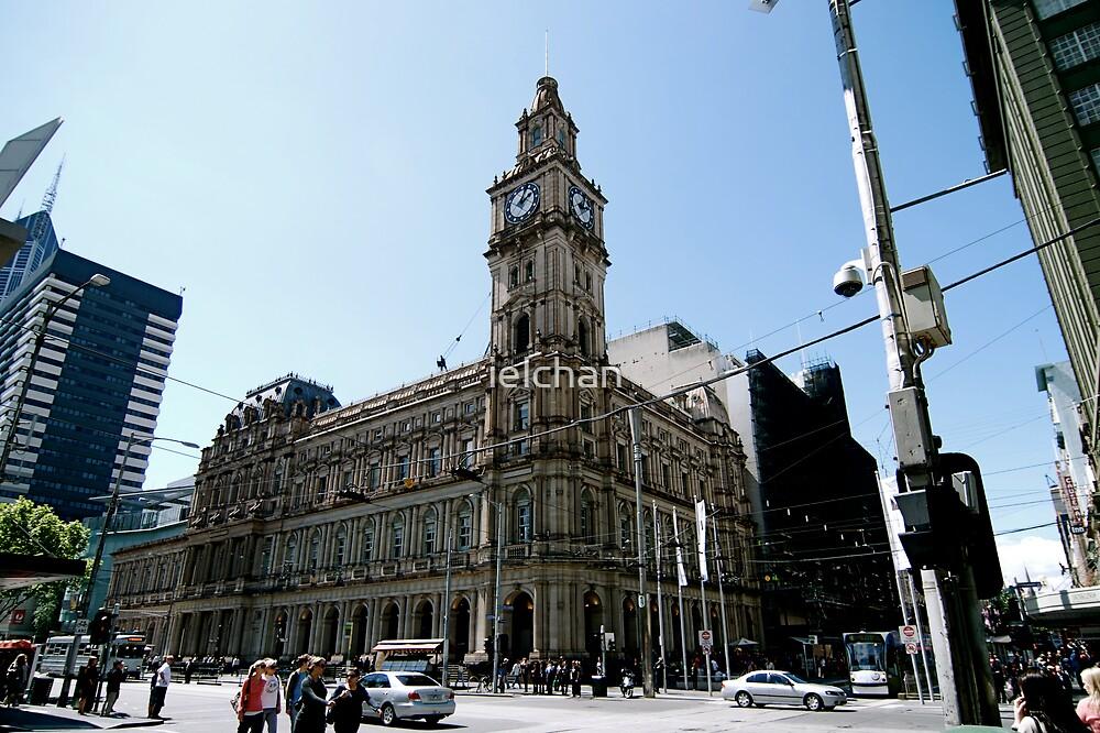 Melbourne city by ielchan