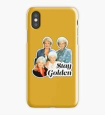 Stay Golden iPhone Case/Skin