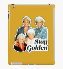 Stay Golden iPad Case/Skin