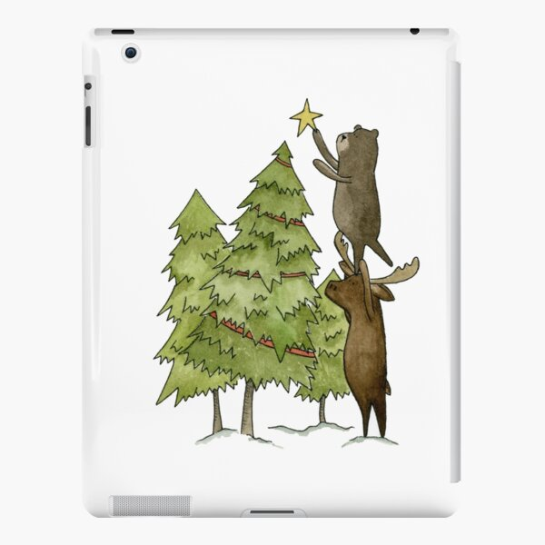 Crooked Christmas iPad Snap Case