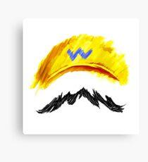 WARIO Mustachio! Canvas Print