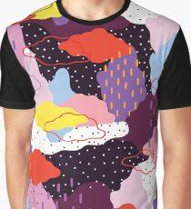 Purple Winter Graphic T-Shirt