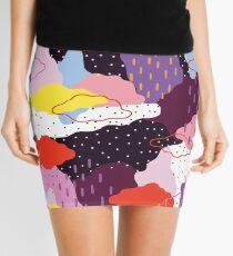 Minifalda Invierno morado