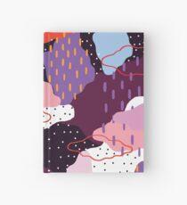 Purple Winter Hardcover Journal