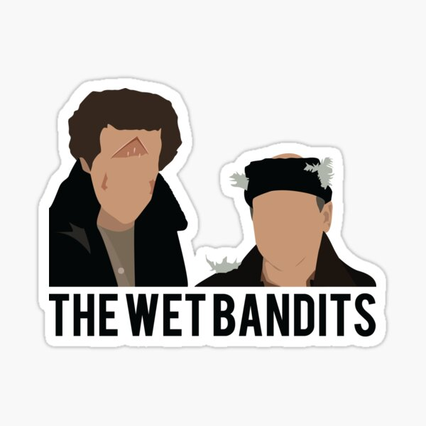 Home Alone - The Wet Bandits Sticker