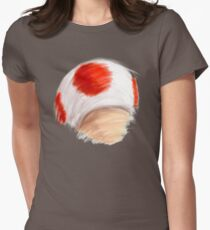 Toadstool! Women's Fitted T-Shirt