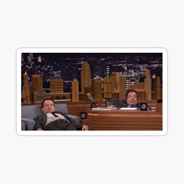 Robert Downey Jr. and Jimmy Fallon Sticker